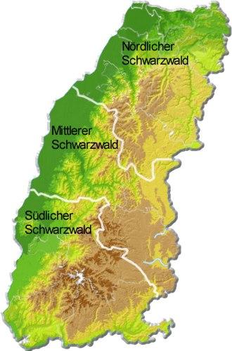 Schwarzwald Regionen Urlaubsregionen